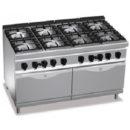Cocina 8 fuegos+2 hornos