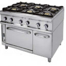 Cocina 6 fuegos+horno