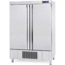 Congelador vertical con estantes inox.
